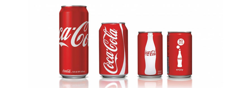 Beverage Can Size - CocaCola