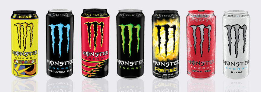 Beverage Can Size - Monster