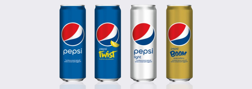 Beverage Can Size - Pepsi