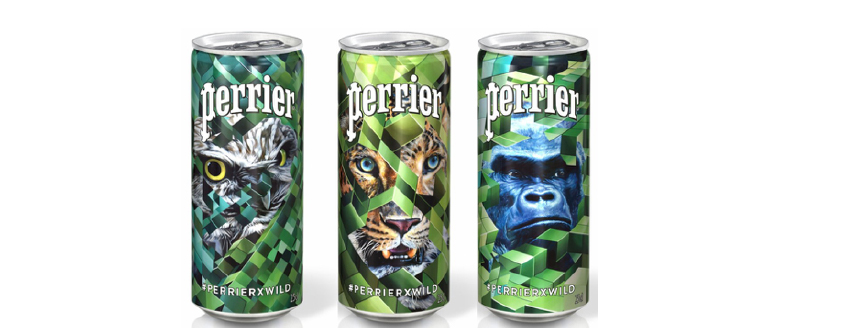 Perrier x Wild Can Collecting