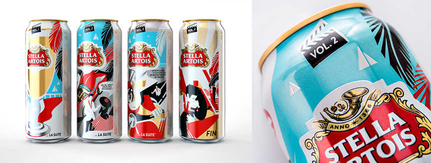Stella Artois Can Collecting Design BBDO