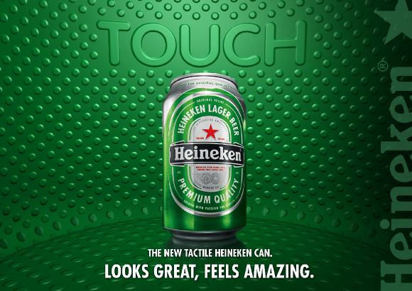 Heineken 2 Metal Packaging