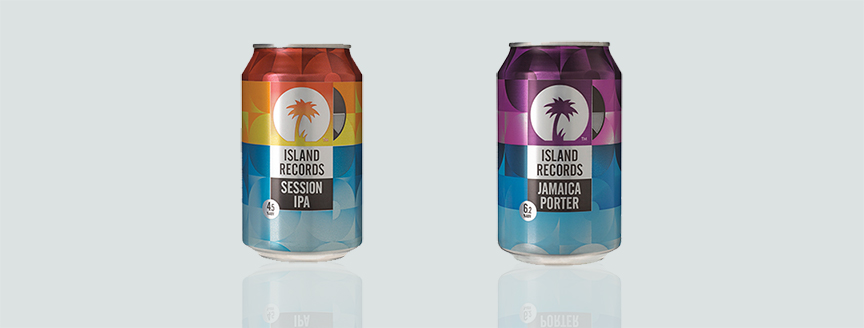 Island Records Cans