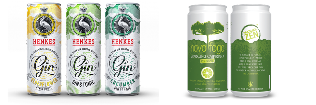 Gin & Tonic and Caipirinha in cans - Metal Packaging Europe