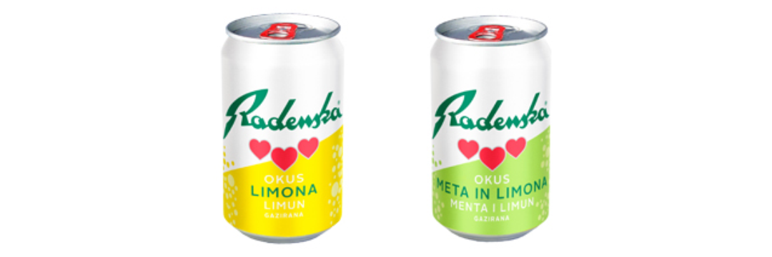MPE - Radesska - Flavoured water in cans