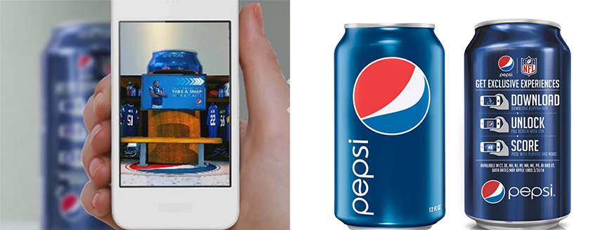 Pepsi - Augmented Reality - Blippar