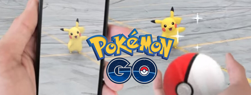 Augmented Reality - Pokémon Go